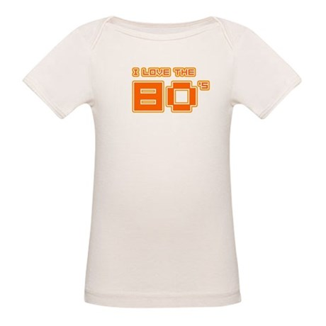 I love the 80's Organic Baby T-Shirt