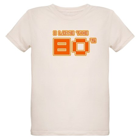 I love the 80's Organic Kids T-Shirt
