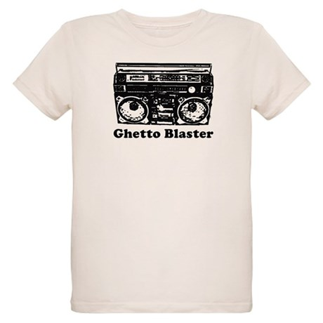 Ghetto Blaster Organic Kids T-Shirt