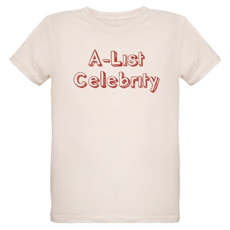 A-List Celebrity Organic Kids T-Shirt