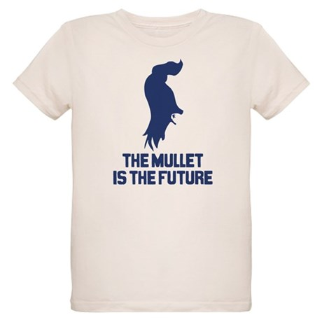 The Mullet is the Future Organic Kids T-Shirt