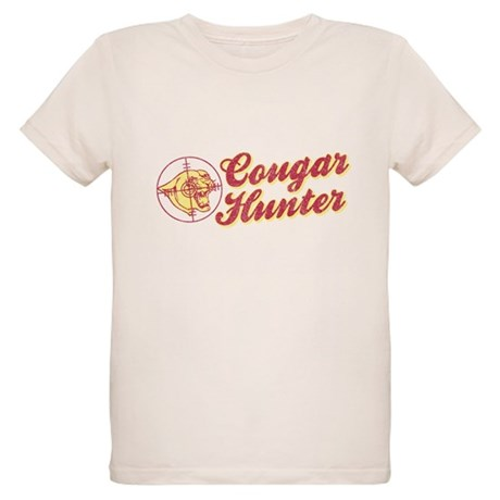 Cougar Hunter Organic Kids T-Shirt