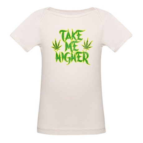 Take Me Higher (Vintage) Organic Baby T-Shirt