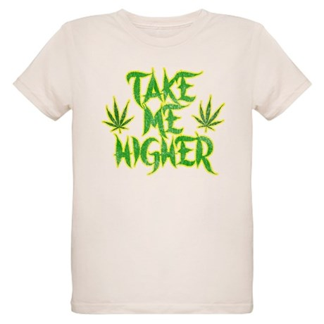 Take Me Higher (Vintage) Organic Kids T-Shirt