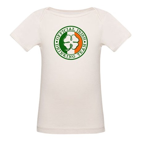 Official Irish Drinking Team Organic Baby T-Shirt