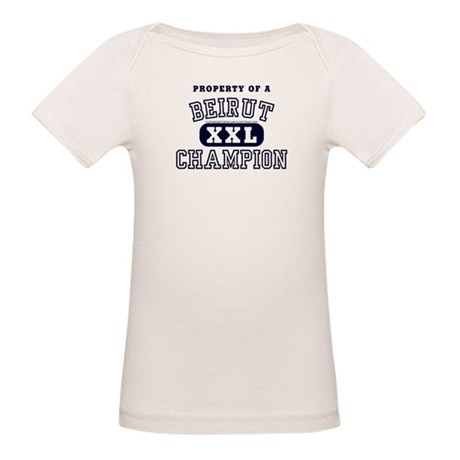 Property of a Beirut Champion Organic Baby T-Shirt