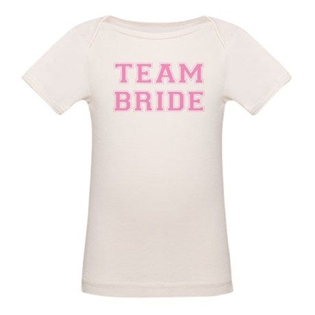 Team Bride Organic Baby T-Shirt