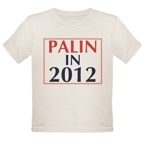 Palin in 2012 Organic Toddler T-Shirt