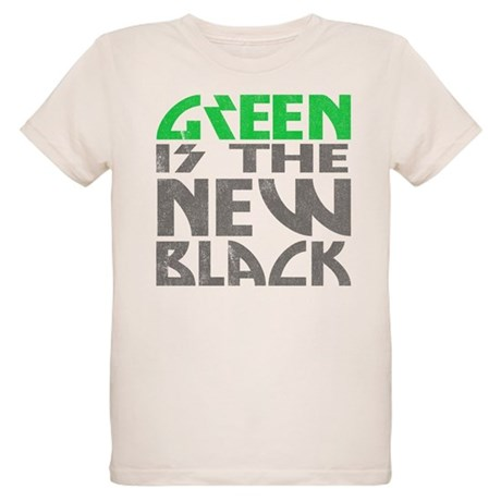 Green is the New Black Organic Kids T-Shirt
