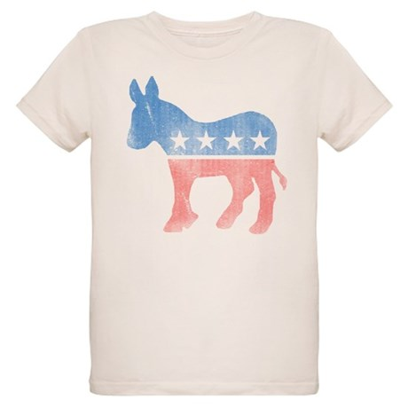 Democratic Donkey Organic Kids T-Shirt