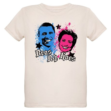 Bros Before Hoes Organic Kids T-Shirt