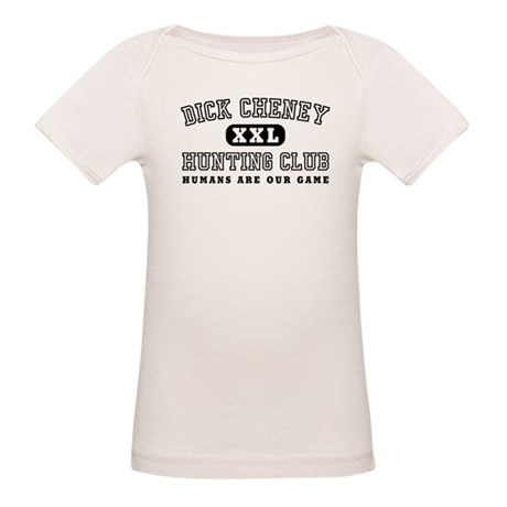 Dick Cheney Hunting Club Organic Baby T-Shirt