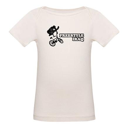 Freestyle Iraq Organic Baby T-Shirt
