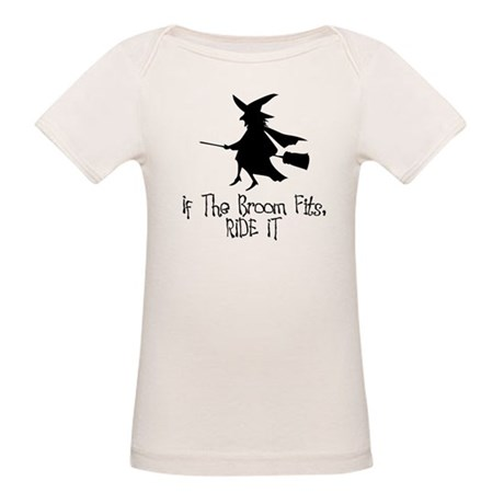 If the Broom Fits Organic Baby T-Shirt