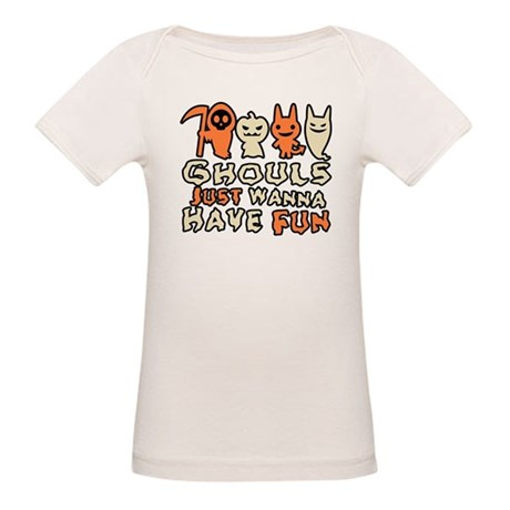 Ghouls Just Wanna Have Fun Organic Baby T-Shirt