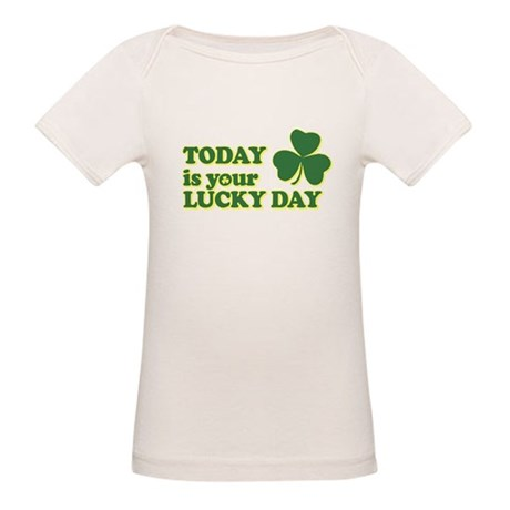 Today Is Your Lucky Day Organic Baby T-Shirt