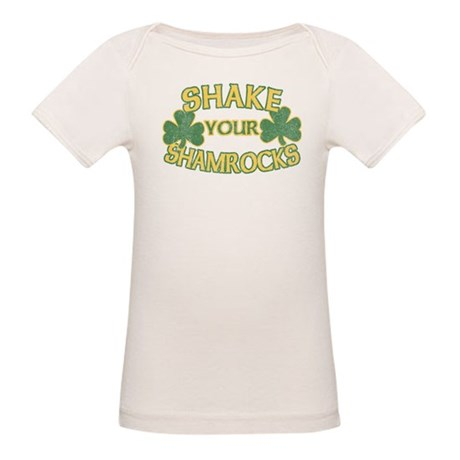 Shake Your Shamrocks Organic Baby T-Shirt