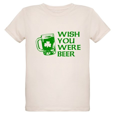 Wish You Were Beer Organic Kids T-Shirt