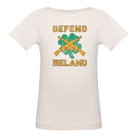 Defend Ireland Organic Baby T-Shirt