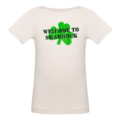 Welcome to Shamrock Organic Baby T-Shirt