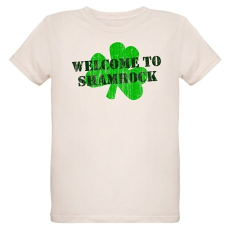 Welcome to Shamrock Organic Kids T-Shirt