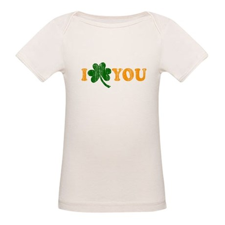 I Shamrock You Organic Baby T-Shirt