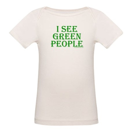 I see green people Organic Baby T-Shirt