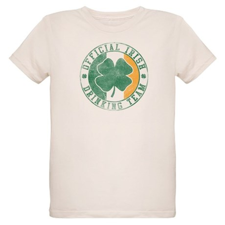 Official Irish Drinking Team Organic Kids T-Shirt