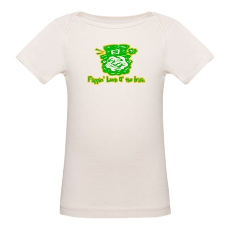 Flippin' Luck O' the Irish Organic Baby T-Shirt