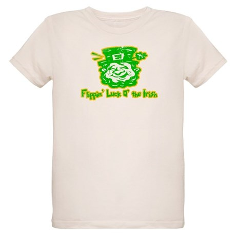 Flippin' Luck O' the Irish Organic Kids T-Shirt