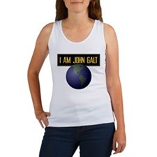 """I AM JOHN GALT"" Women's Tank Top"