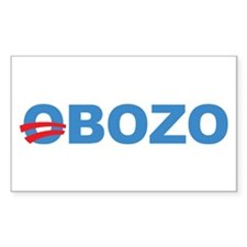 Anti Barack Obama Rectangle Decal