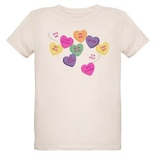 Anti Valentine's Candy Hearts T-Shirt
