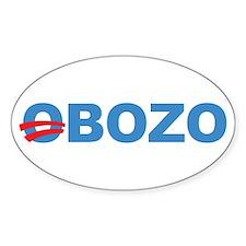 Anti Barack Obama Oval Sticker (10 pk)