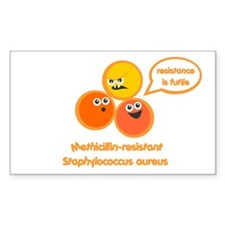 MRSA Rectangle Decal