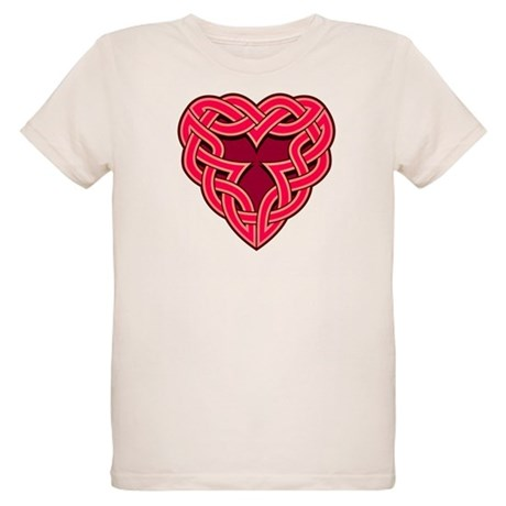 Chante Heartknot Organic Kids T-Shirt