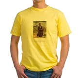 Yellow John Brown Tee-shirt