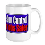 Criminals & Gun Control Large Mug