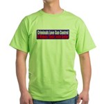 Criminals & Gun Control Green T-Shirt