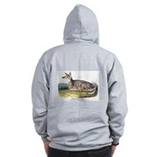 Audubon White-Tailed Deer (Back) Zip Hoodie
