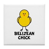 Belizean Chick Tile Coaster