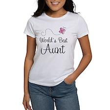 World's Best Aunt Tee