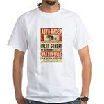 Auto Races White T-Shirt
