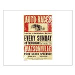 Auto Races Small Poster