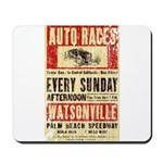 Auto Races Mousepad