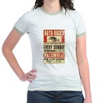 Auto Races Jr. Ringer T-Shirt
