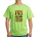Auto Races Green T-Shirt