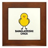 Bangladeshi Chick Framed Tile