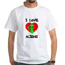 I Love Aliens Shirt
