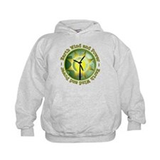 Earth wind and power Hoodie